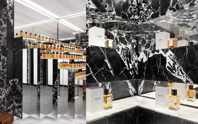 "CELINE全新""HAUTE PARFUMERIE""高級訂製香水系列微風廣場全新概念店3月6號全台獨家上市。(圖/品牌提供)"