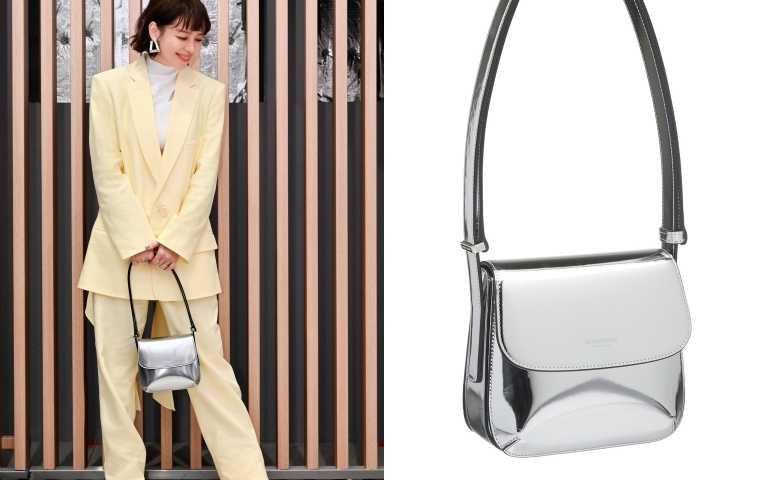 徐若瑄oversize版型亮色西裝與復古高跟靴,鮮豔配色激盪出秋冬也能有的活力繽紛。(圖/品牌提供)