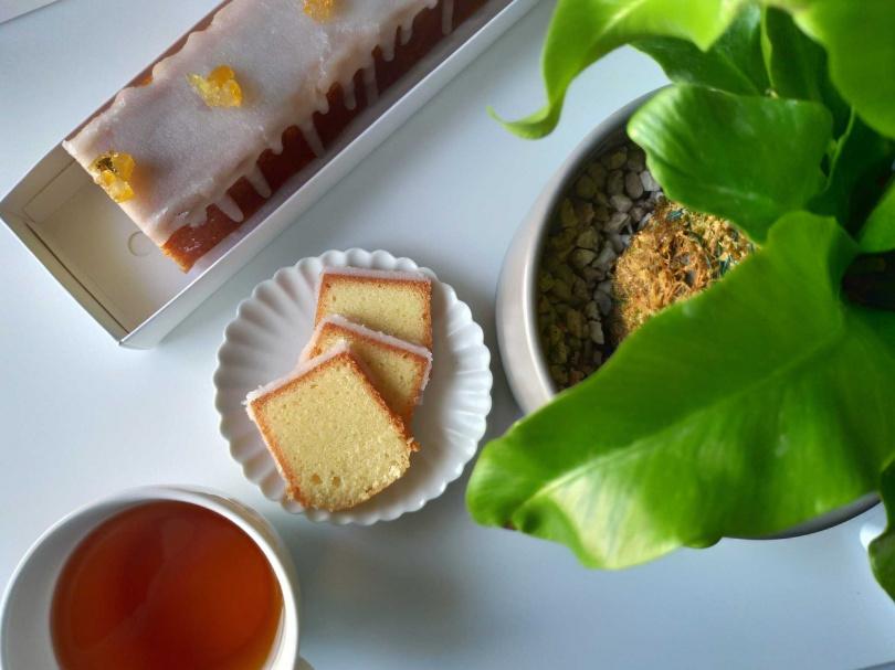 椿月「經典檸檬糖霜磅蛋糕」350元。(圖/Pinkoi提供)