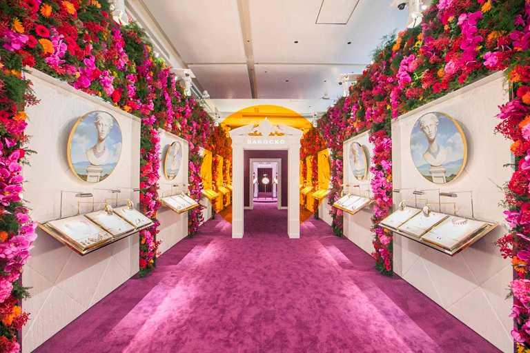 BVLGARI《BAROCKO》頂級珠寶暨腕錶展,現於台北萬豪酒店展出,採預約鑑賞制。(圖╱BVLGARI提供)