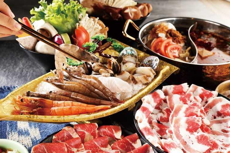 「汕頭泉成」的海鮮料多實在。