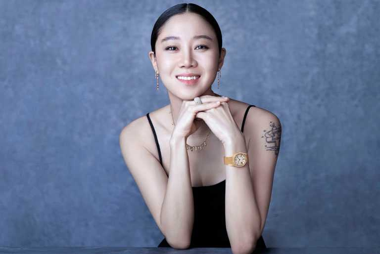 韓國知名女演員孔曉振,伯爵亞太區品牌大使。(圖╱PIAGET提供)