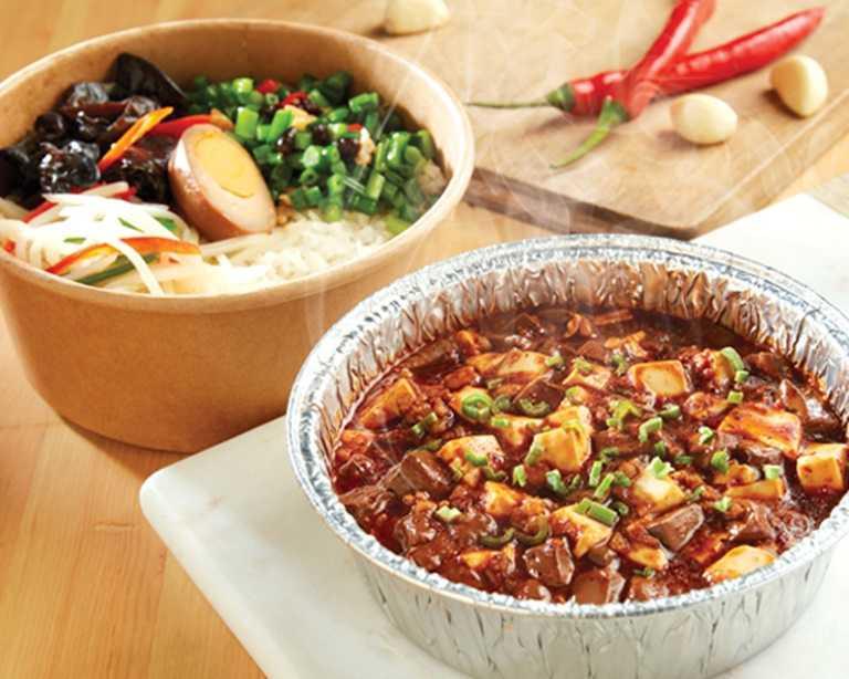 時時香新推餐盒-超級麻婆豆腐飯。