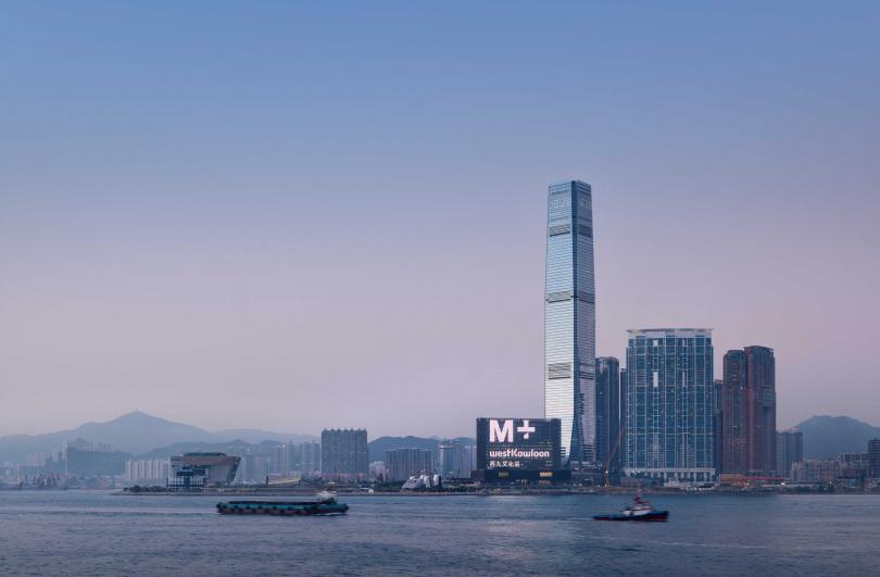 「M+當代視覺文化博物館」將於今年11月12日在香港開幕。(圖/Herzog _ de Meuron提供)