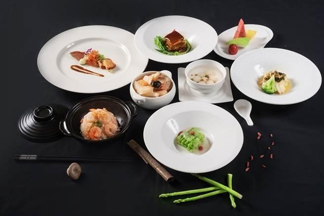 粵亮廣式料理 大地套餐。