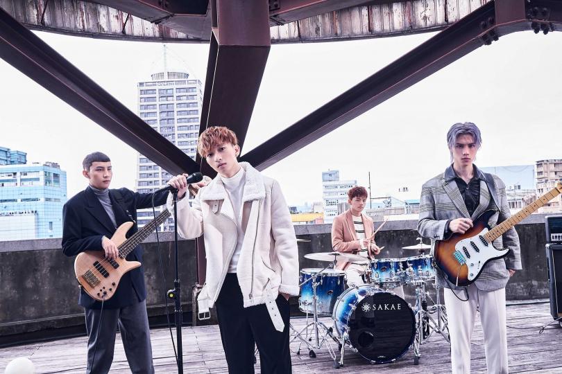 noovy成員左起貝斯手Jacob、主唱Shawn、鼓手Mark、吉他手JK。(圖/索尼提供)