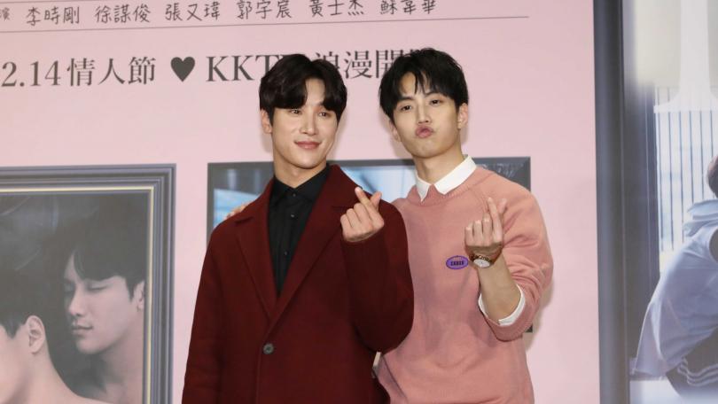 李時剛、徐謀俊劇中有中韓文雙聲演出。(圖/攝影林勝發)