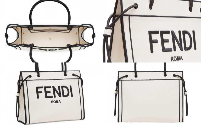 FENDI ROMA SHOPPER 包款大型尺寸/68,000元、中型尺寸/60,900元(圖/品牌提供)