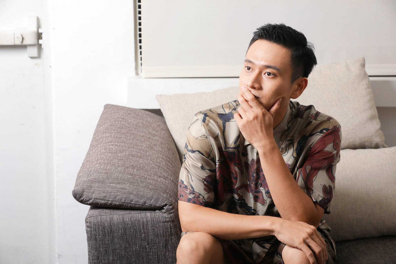 現實生活中,劉冠廷表達感情相當直接,更會不時製造驚喜,不像片中那般木訥。(圖/施岳呈攝)