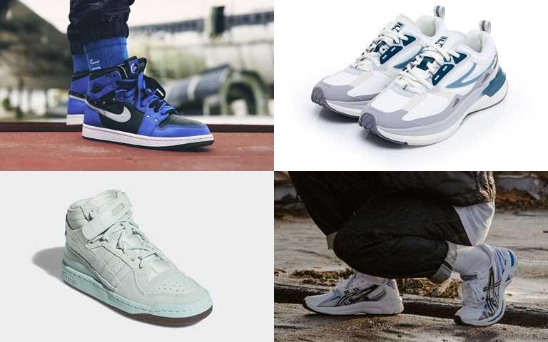 (圖/NIKE、FILA、ASICS、adidas Originals)