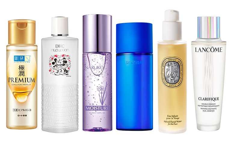 化妝水除了立即保濕外,選對「微酸」成分的化妝水還有代謝角質的效果。(圖/各品牌提供)