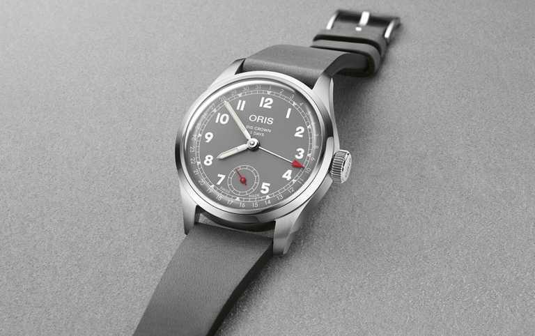 ORIS「Hölstein 2021」 限量腕錶,38mm,不鏽鋼錶殼,Oris Calibre 403型自動上鏈機芯,限量250只╱110,000元。(圖╱ORIS提供)