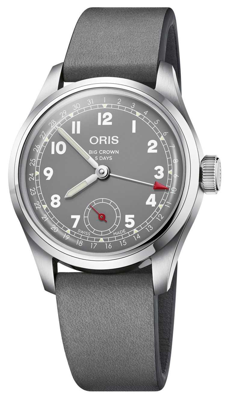 ORIS「Hölstein 2021」 限量腕錶,搭載Oris Calibre 403型自動上鏈機芯,包含5日動力儲存、高抗磁性,以及10年保固期。(圖╱ORIS提供)