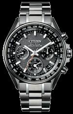 CITIZEN光動能GPS衛星對時錶錶 CC4004-58E,鈦合金材質,定價73,800元