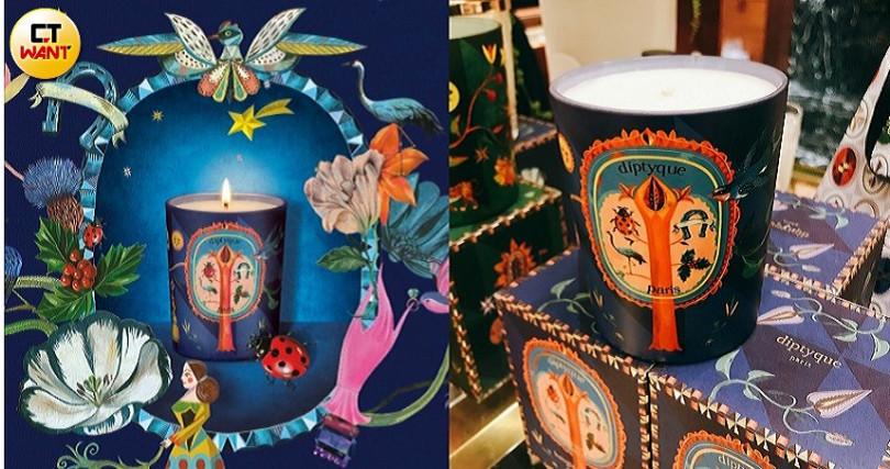 diptyque限量琥珀降福(Ambre Félicité)香氛蠟燭190g/2,450元。(圖/黃筱婷攝影、品牌提供)