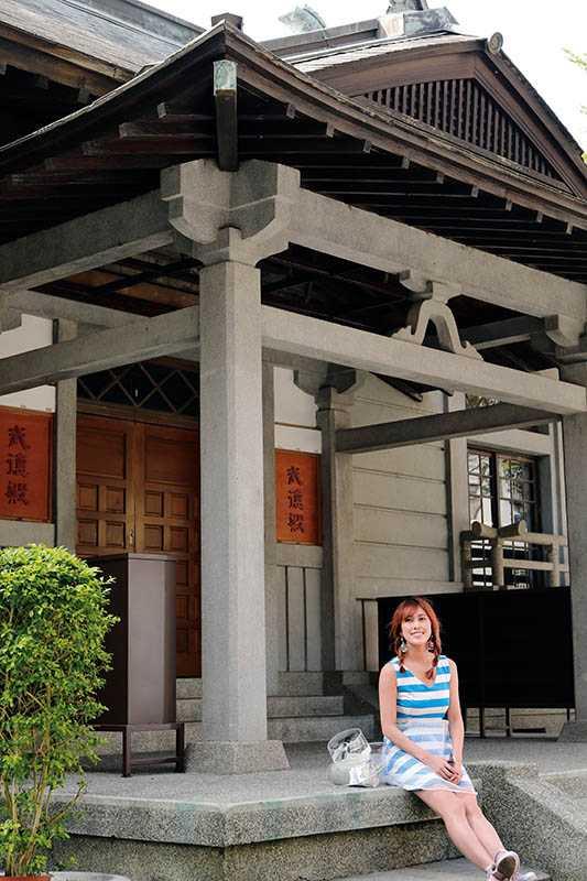 大溪武德殿的外觀為日本傳統寺殿造型,是目前全台武德殿中保存較完整的一座。(圖/于魯光攝)
