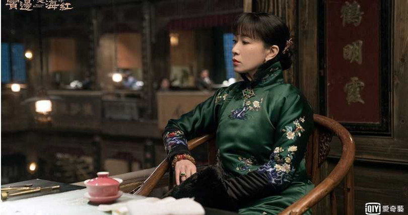 佘詩曼飾演黃曉明老婆范湘兒,劇中個性直爽,看不慣就罵。(圖/愛奇藝台灣站)