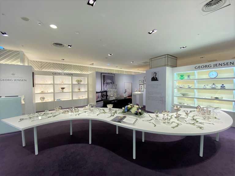 GEORG JENSEN生活精品店,於台北新光三越信義A8盛大開幕。(圖╱GEORG JENSEN提供)