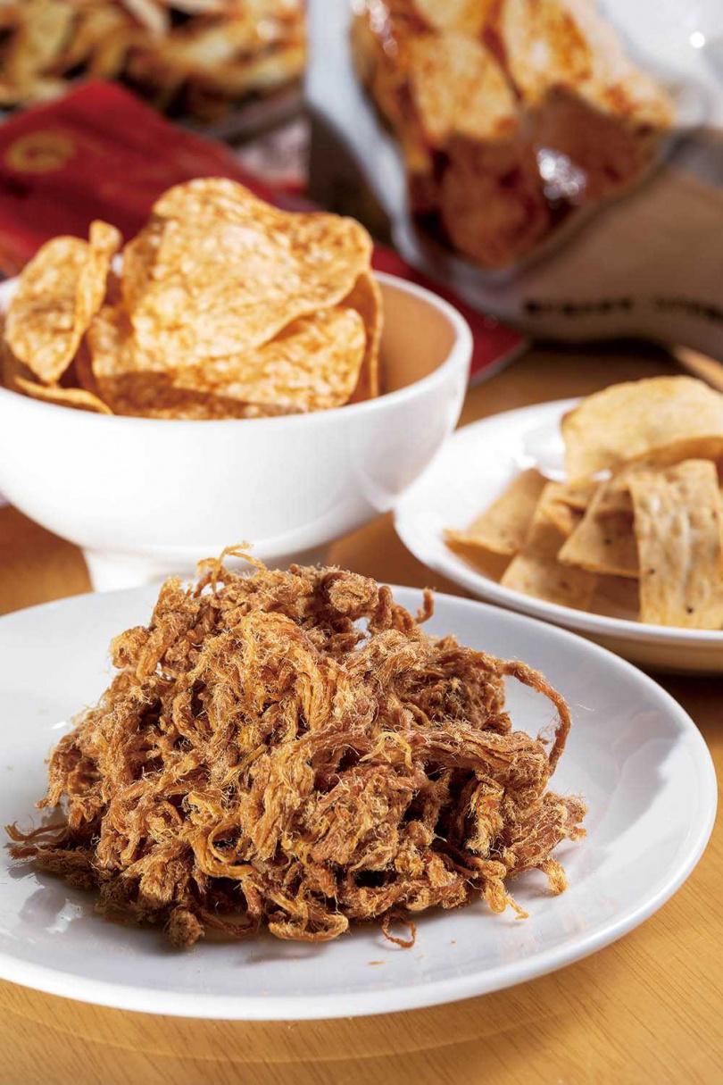 「原味肉條」滷煮入味且帶有嚼勁,讓人一口接一口。(200元/包)(圖/焦正德攝)