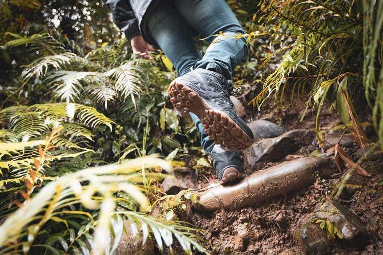 擁有一雙絕佳抓地力的登山鞋,能克服許多山林地形,出遊更安心。