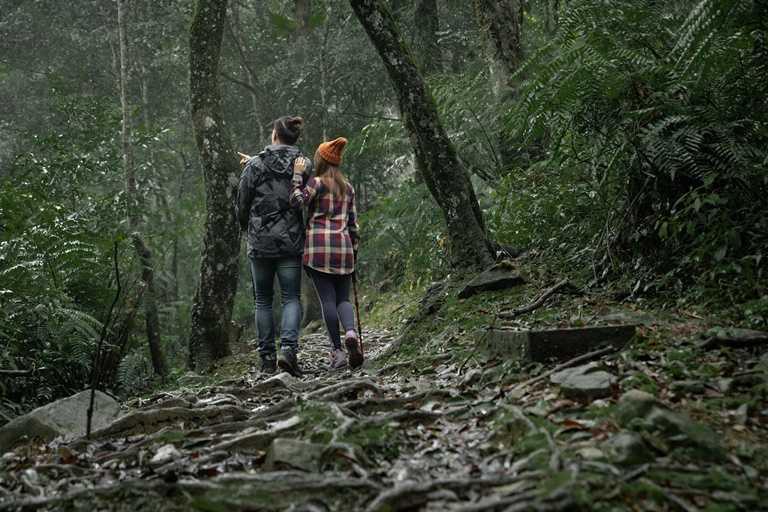 台灣山林遍布,不用跑得大老遠,隨時都能暫時遠離塵囂,呼吸新鮮空氣。