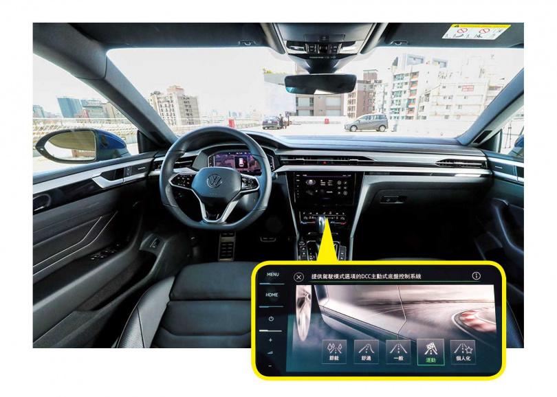 中控搭載10.25吋螢幕,無論是主被動安全設定還是駕駛模式,都能透過此螢幕調整。(圖/馬景平攝)