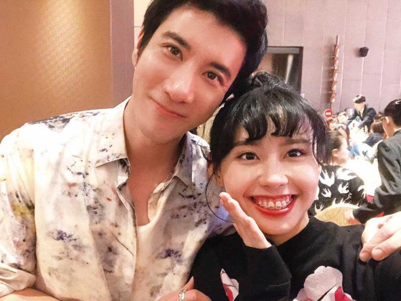2019年李芷婷參加《中國好聲音》,和導師王力宏結下深厚的師徒情緣。(圖/唯有音樂提供)
