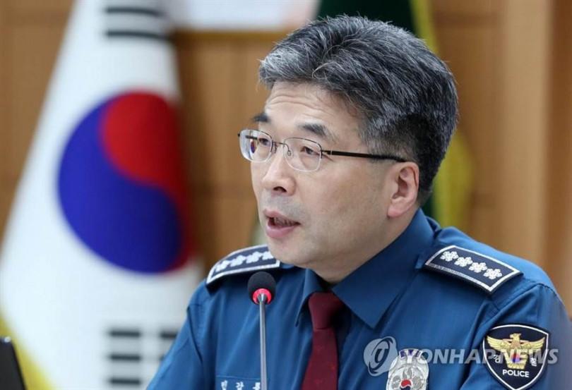 閔鉀龍宣佈Burning Sun案查無不法,韓國網友怒罵他「講屁話」。(翻攝自韓聯網)