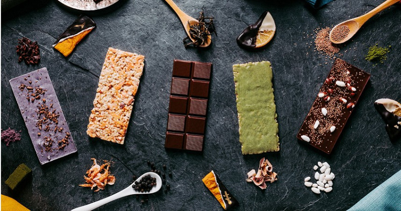 「福灣巧克力」的其他巧克力品項。(圖/福灣巧克力提供)