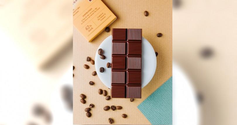 拿下全球最佳黑巧克力的「台灣一號屏東黑巧克力62%」。(圖/福灣巧克力提供)