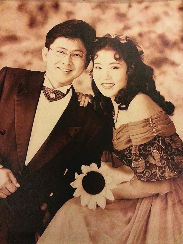 樊定宣回山東老家娶得美嬌娘,是他人生最得意的時候。(圖/樊定宣提供)