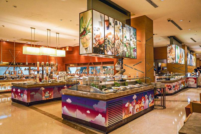 義大皇家酒店的星亞自助餐廳,符合條件者即可享65折優惠!