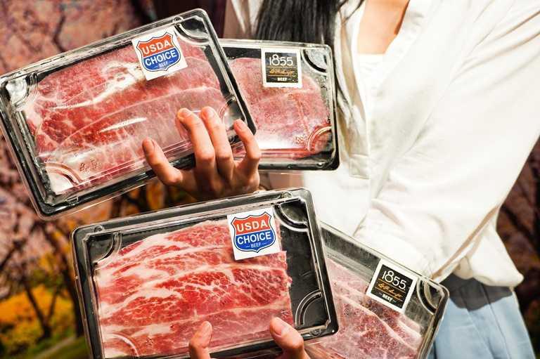 「哞哞屋」防疫期間轉型改賣食材,一樣通通5折價。