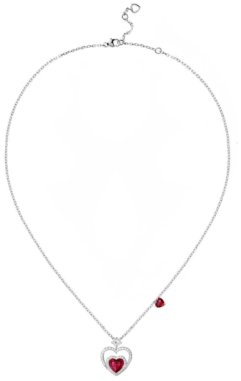 FRED「Pretty Woman」高級珠寶系列,Audacious項鍊╱582,500元。(圖╱FRED提供)