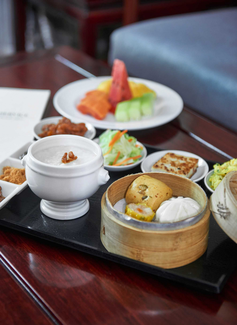 入住即提供「room service早餐(中式)」。