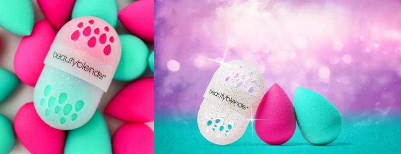 beautyblender®原創美妝蛋-閃閃珍愛限量組 All That Glitters /NT1,390。 (圖片:品牌提供)