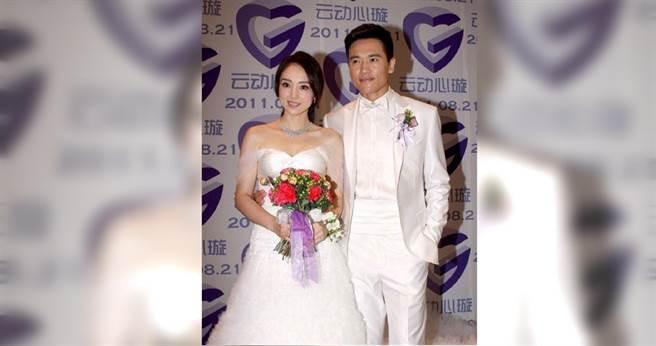 大陸男星高雲翔與董璇結婚8年,因「澳洲性侵」事件間接導致兩人離婚。(翻攝自新浪娛樂微博)