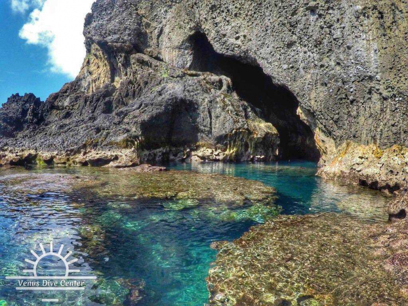 綠島藍洞。(圖/KKday提供)