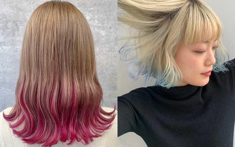 冷色調的淺髮在護理上別忘了要使用偏紫調色素的洗護產品,才能夠於褪色後將變黃的髮色壓下來。(圖/品牌提供)