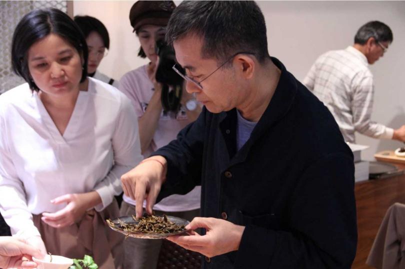 池宗憲的課程「品茶入菜引美味」。(圖/The One提供)