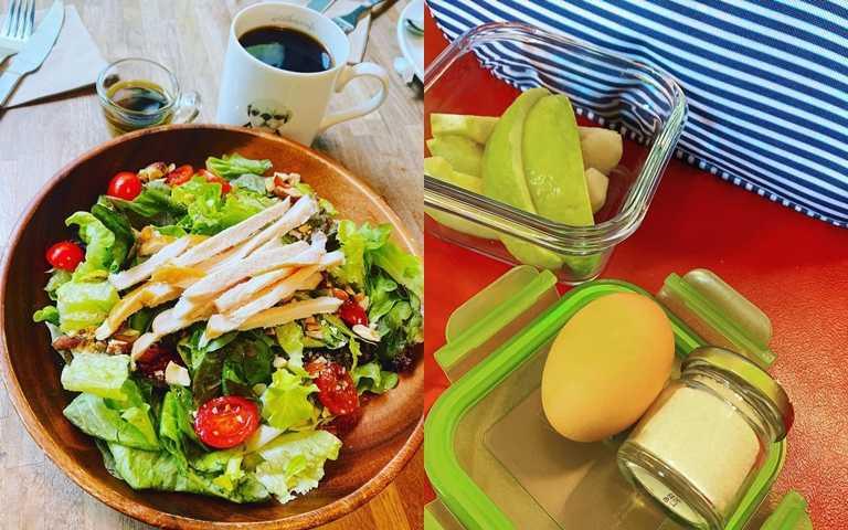 大量蔬菜和好的蛋白質是瘦身清單中不可缺少的東西。(圖/翻攝徐若瑄IG)