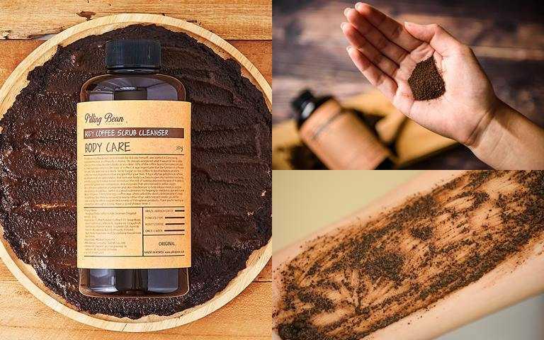 同場加映!另外還有去角質與身體沐浴2 in 1的「咖啡喳喳身體磨砂」,幫全身肌膚透亮拋光一掃暗沉。(圖/品牌提供)