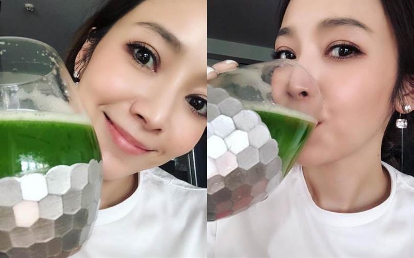 每天一杯健康蔬果汁,就能擁有像侯佩岑一樣的Q彈透亮好膚質。