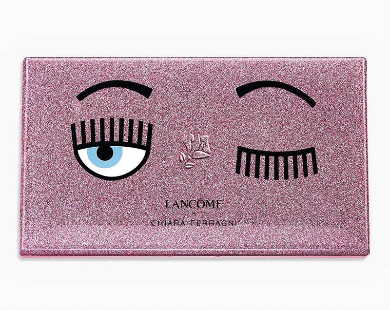 Chiara Ferragni × LANCÔME 粉紅眨眼系列 眼唇頰彩盤/2,980元