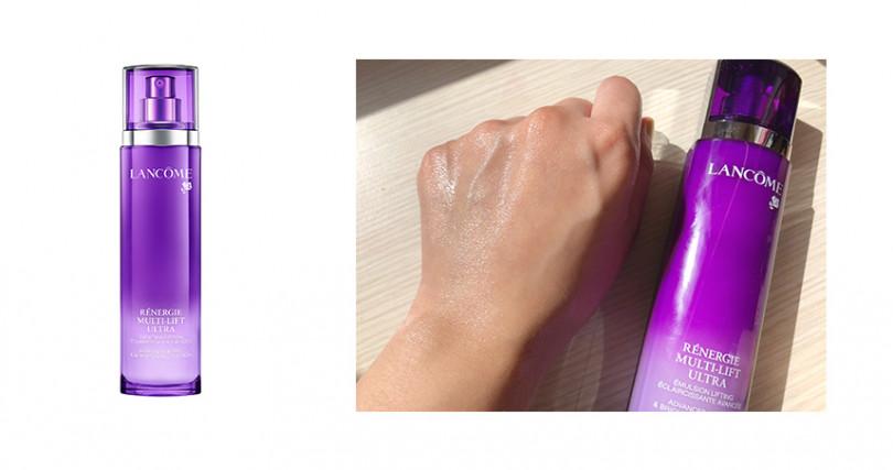 LAMNCOME超緊顏白金青春輕乳液100ml/NT3,600(圖/LANCOME提供、彭靖芸攝)