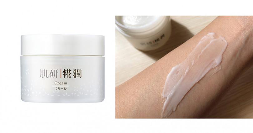 肌研糀潤賦活雪凝霜50g/NT950(圖/肌研提供,彭靖芸攝)