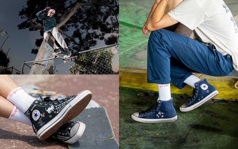 Converse x Sean Pablo聯名鞋款系列建議售價為NT2,480(圖/Converse)