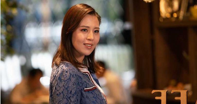 劉品言特別客串《我的婆婆》演出強勢大媳婦佳純,首次挑戰驕縱「必娶」型女人。(圖/公視)