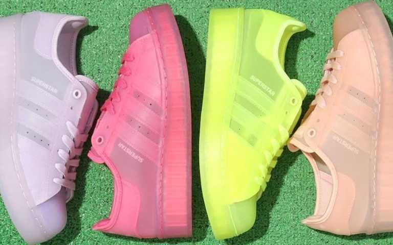 adidas Originals WMNS SUPERSTAR JELLY共推出四種顏色。(圖/翻攝自fullress.com)