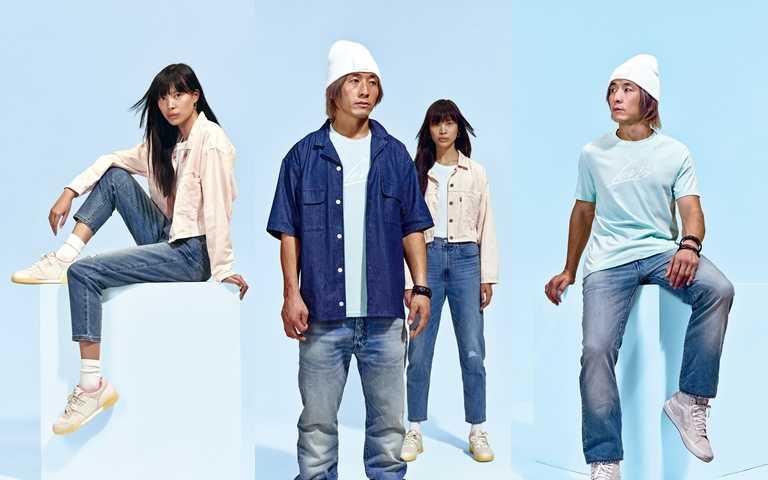 專為夏季設計的涼感丹寧,一口氣推出9種版型,不怕挑不到合穿的夏日丹寧褲。(圖/LEVI'S)